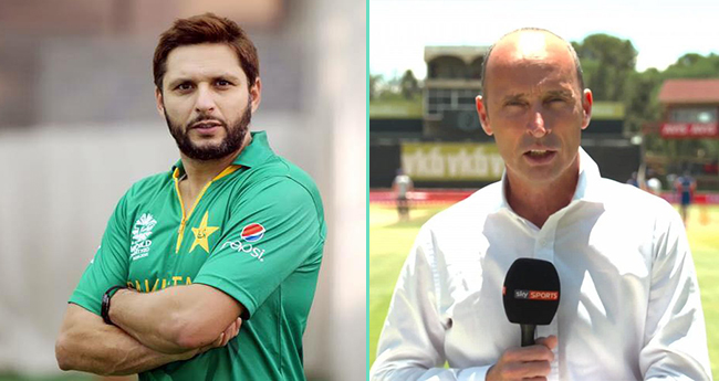 Nasser Hussain Asked Shahid Afridi About His Comeback, And His Answer Will Make You Go LOL