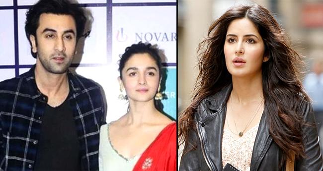 Katrina Kaif gets miffed by Alia Bhatt's closeness with Brahmastra co-star Ranbir Kapoor