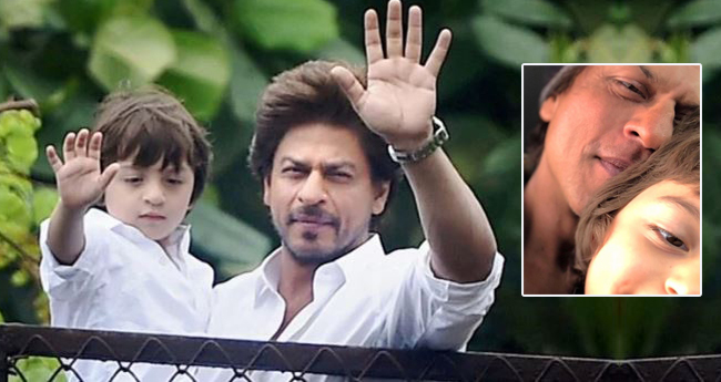 Shah Rukh Khan With His Little Munchkin AbRam Wishes Everyone 'Eid Mubarak'