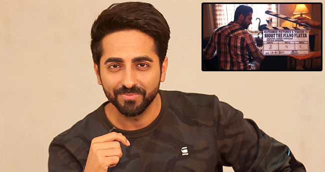 Ayushmann Khurrana Keeps It Real For Next, Will Be Playing Pianist In 'Shoot The Piano Player'