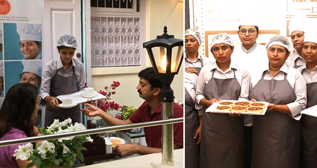 Kolkata Cafe Inspires Homeless And Mentally Ill Women To Be Independent In Their Lives By Providing Them Work