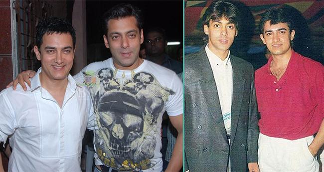 Bollywood's Two Super Khans, Aamir and Salman Were School Buddies