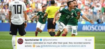 Mexico's World Cup Goal Resulted Into 'Man-Made Earthquake'