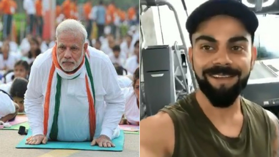 Video: PM Modi responds to Virat Kohli's Fitness Challenge