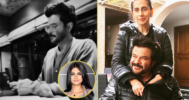 Anil Kapoor Shares A Picture Of Texting His Old School Love And It Is Too Adorable For Words