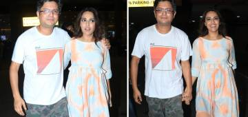 Pics: Swara Bhasker Walking Hand-In-Hand With Beau Himanshu Sharma