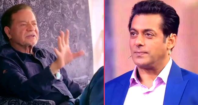 After watching father Salim's video, Salman Khan gets emotional on 'Dus Ka dum' sets