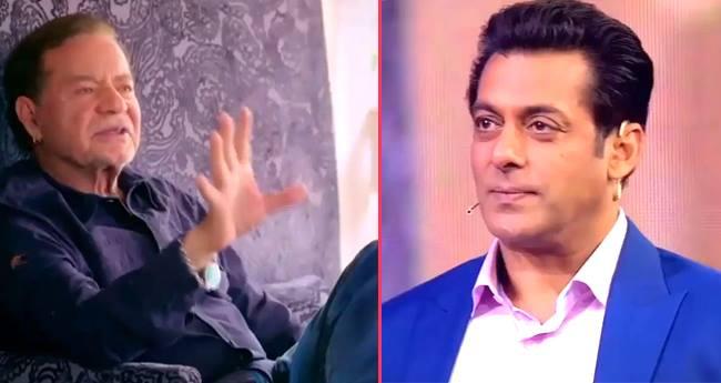 After watching father Salim's video, Salman Khan gets emotional on 'Dus Ka dum' sets
