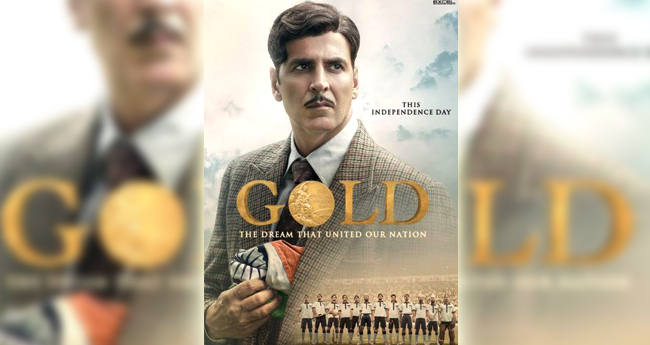 New poster of Akshay-Farhan's 'Gold' out, movie to hit in cinemas on 15 th of August