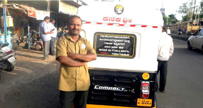 Munnesa Managuli, An Auto Driver Who Gives Free Rides To Pregnant Women, Disabled And Soldiers