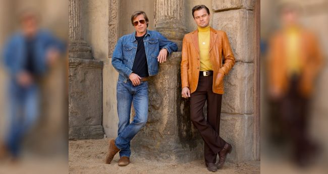 """Brad Pitt and Leonardo DiCaprio reminds us of old times in new still from movie """"Once Upon a Time in Hollywood"""""""
