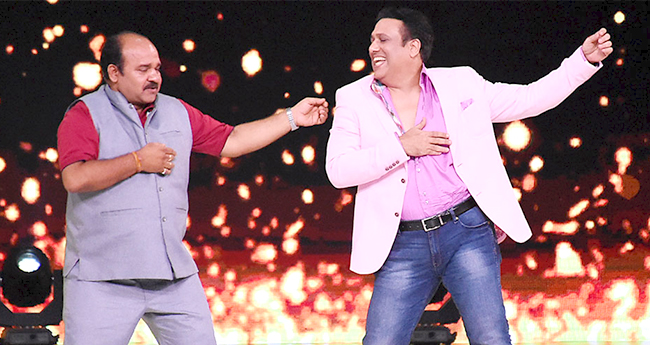 Dancing uncle finally shakes leg with Govinda on the sets of a dance reality show