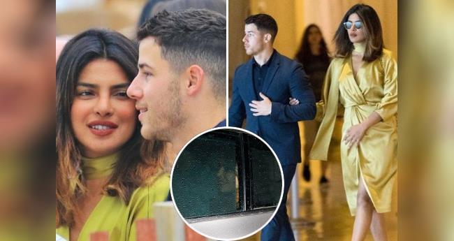 Priyanka Chopra and Nick Jonas avoid paparazzi as they come back to Mumbai