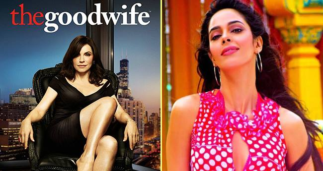 Mallika Sherawat makes a comeback with THE GOOD WIFE, a Popular American Show For Indians