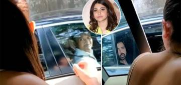 Video: Traveling in a posh car, man throws garbage on streets, Anushka gives him a lesson