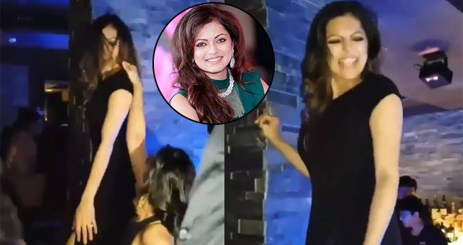Drashti Dhami crazily dance on 'Desi Girl' at the launch party of 'Silsila Badalte Rishton Ka'
