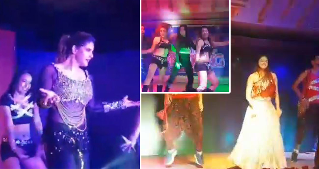 Video: Ankita, Zareen, Aarti and Rashmi performing at the 'Nepal casino mela' is a must watch