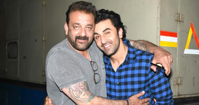 Real and Reel Life Sanjay Dutt and Ranbir Kapoor will step together fora promotional song for SANJU