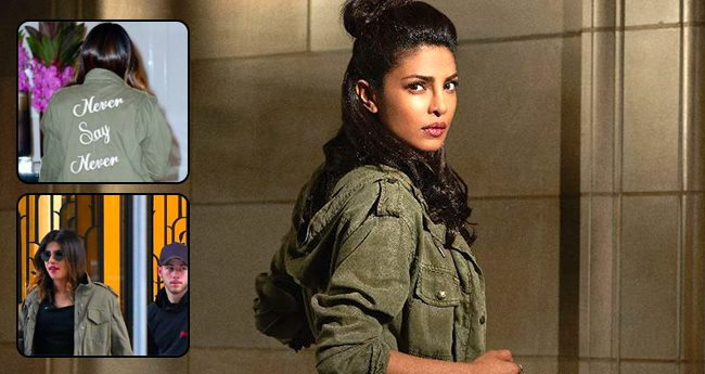 """Priyanka's dinner date with Nick is hinting about their relationship, Priyanka's Tee says """"Never say Never"""""""