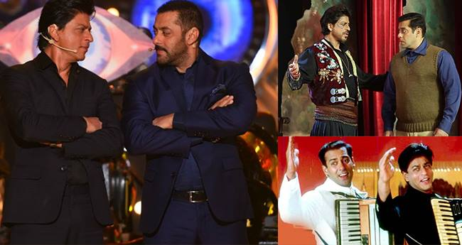 4 Times Shahrukh and Salman did cameo in each others' films