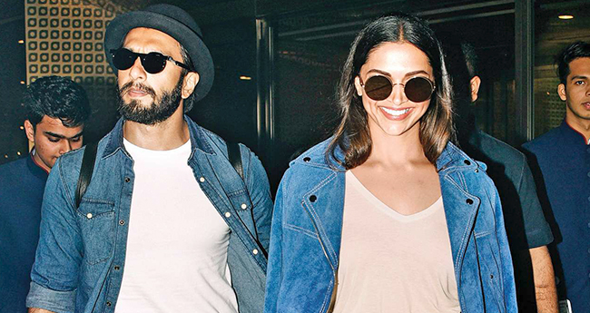 Ranveer Singh has informed his friends from B-town about his marriage with Deepika