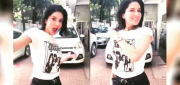 Sunny Leone's crazy dance moves on 'Lamba Tikegi' are a must watch