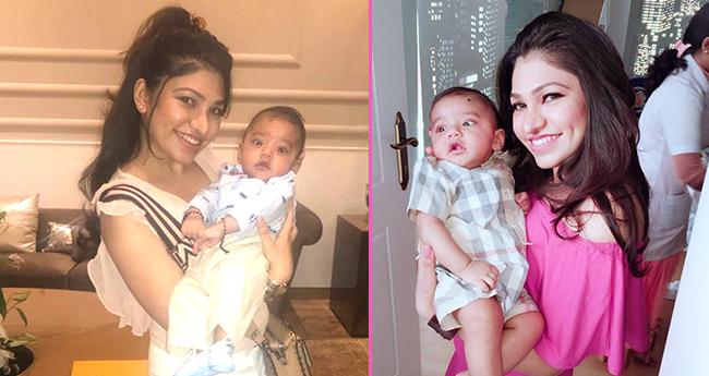 Pics: Tulsi Kumar's son Shivaay's cuteness can't be ignored