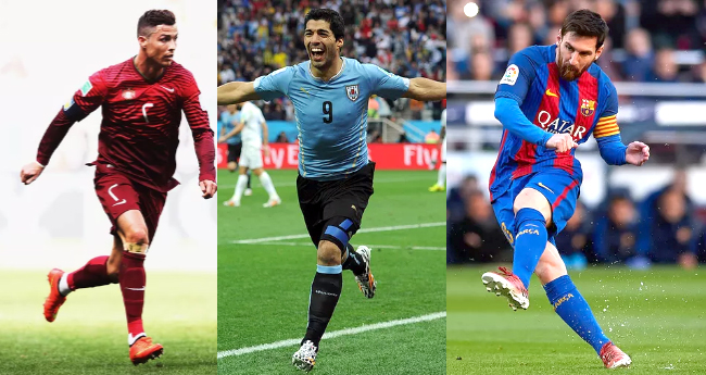 5 top-notch Soccer Players in the globe