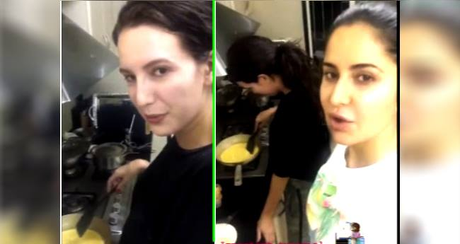 Video: Katrina Learns To Cook Omelette, Isabelle Says 'Didi Only Wants Cheese'