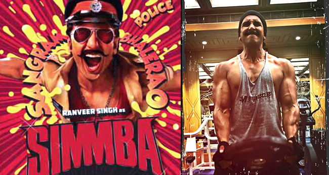 Ranveer Singh's Workout Session For Simmba Is Too Good To Get Inspired