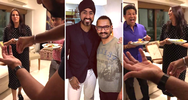 Fatima Sana Sheikh Shares An Amazing Video On Insta from Aamir Khan's house-party