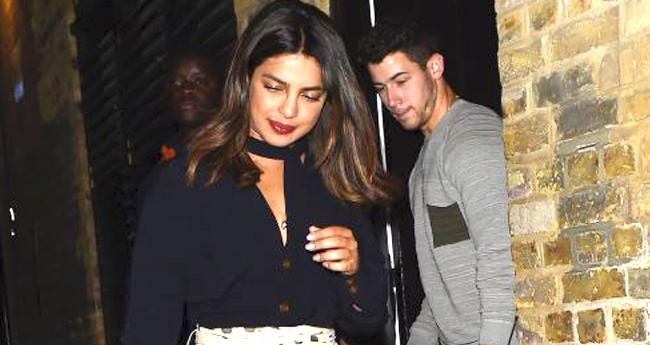 Priyanka Chopra Sneaks Out On a Dinner Date With Nick Jonas On Her Birthday