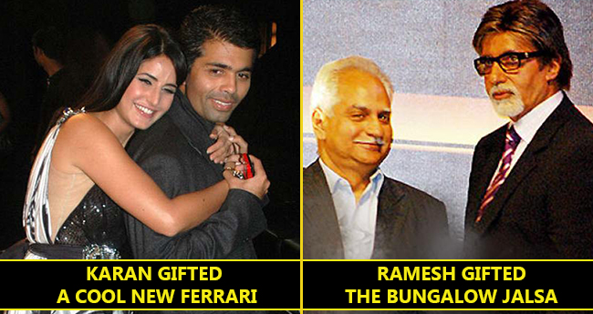Bollywood Biggies And The Incredibly Costly Gifts From Film Makers