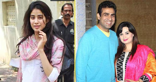 Janhvi Kapoor's Onscreen Mom Shalini Kapoor's Romantic Snaps Will Make You Go Aww
