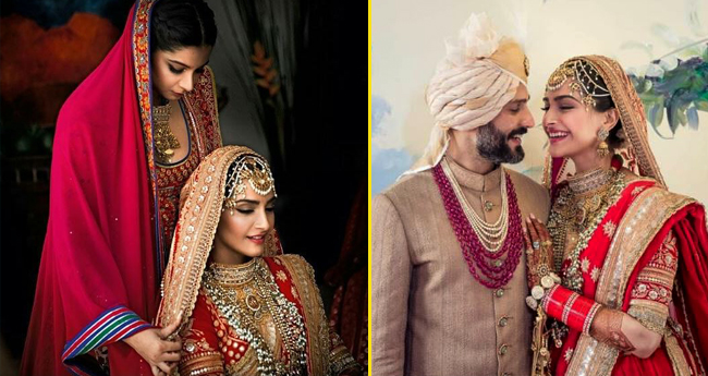 Special pictures from Sonam Kapoor's marriage that showcases the moods of every Indian bride