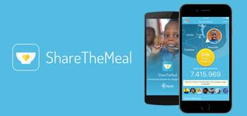 ShareTheMeal – UN's app to aid fight worldwide hunger, one meal at a time