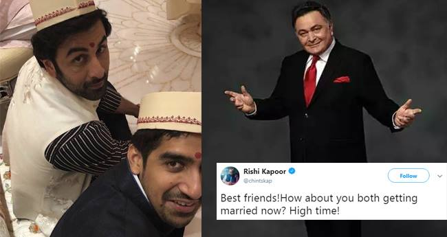 Rishi Kapoor Says Its High Time For Ranbir Kapoor To Get