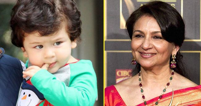 Taimur is more famous than I am, says Grandmother Sharmila Tagore