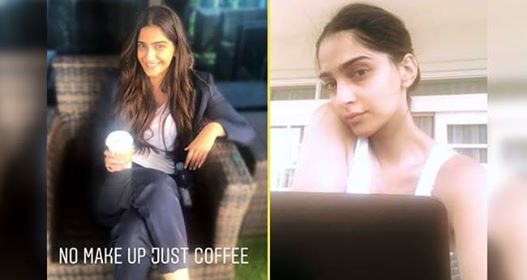 Sonam Kapoor's Latest Pictures Prove That She Looks Beautiful Even Without Makeup