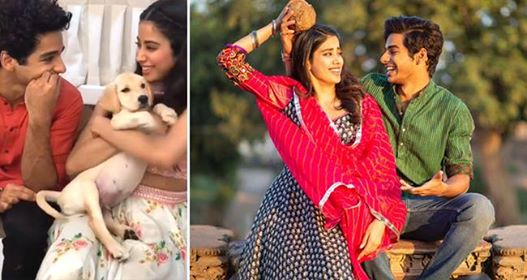 Janhvi Kapoor And Ishaan Khatter Get A Puppy On Sets Of India's Best Dramebaaz