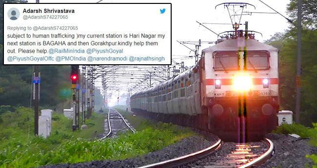 A Tweet from a passenger saved lives of 25 minor girls on Train