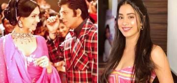 Janhvi Kapoor Is Crazy About Shah Rukh Khan And Deepika Padukone's Film Om Shanti Om