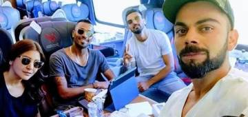 Virat And Anushka's Train Journey With KL Rahul And Hardik Pandya Is All About Fun