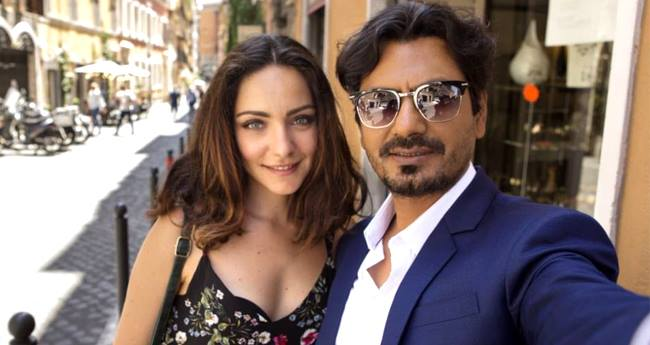 Nawazuddin Siddique in Rome with Gorgeous Valentia Corti for Tannishtha Chatterjee's debut film