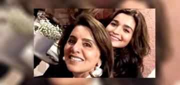 Ranbir Kapoor's Mom Neetu again comments on Alia Bhatt's picture on Instagram