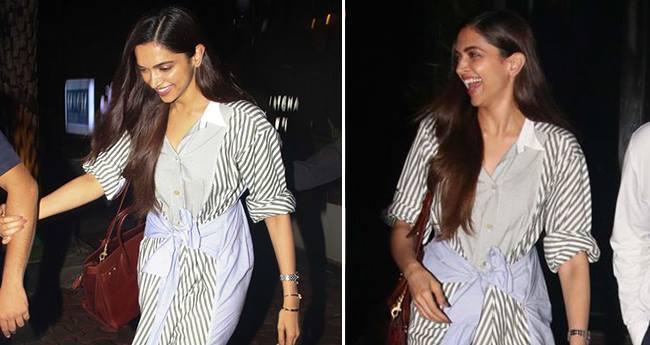 Deepika Padukone Flashes A Big Smile When Papped In Mumbai
