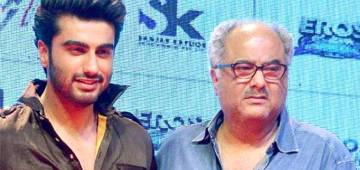 Arjun Kapoor hopes to give Dad Boney Kapoor his career's biggest hit movie
