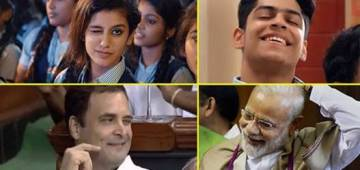 Forget Priya Prakash's Wink, Because Rahul Gandhi Is Taking Our Breath Away