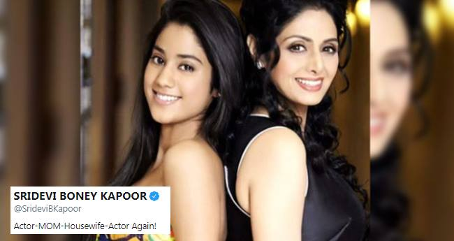 B'town and Fans remember Sridevi after watching Janhvi Kapoor's Dhadak