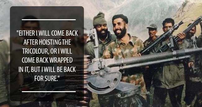 Living A Life Less Ordinary: Captain Vikram Batra Who Still Lives In Our Hearts